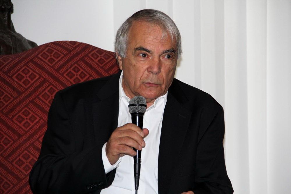 Nicolae Manolescu,   Președintele Uniunii Scriitorilor din România / Foto: Dan Bodea
