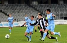 Valentin Lemnaru ar putea reveni în atacul Univesităţii Cluj,   în meciul din optimile Cupei României,   cu FC Braşov,   din 29 octombrie / Foto: Dan Bodea