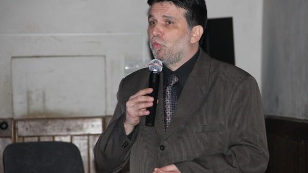 Arhitectul Szabolcs Istvan Guttmann, preşedintele filialei Transilvania a Ordinului Arhitecţilor din România/ Foto: Dan Bodea.