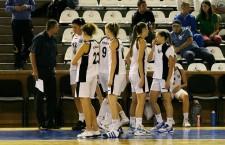 După trei înfrângeri consecutive în Liga Naţională de Baschet Feminin Universitatea Cluj devine o candidată la retrogradare în acest sezon  / Foto: Dan Bodea