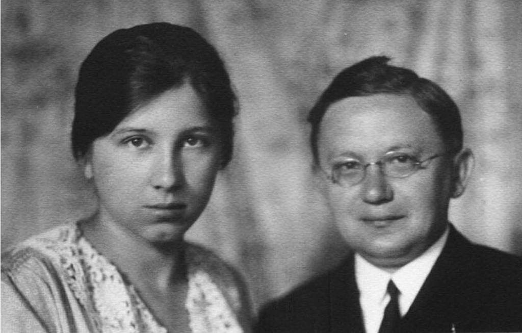 Pastorul Jarosi și soția lui Laura