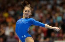 Larisa Iordache a evoluat constant la toate cele patru aparate din finala de la individual compus şi a obţinut medalia de argint la Campionatele Mondiale de gimanstică