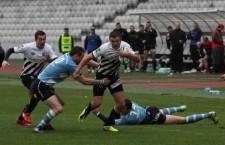 Rugby-ştii de la Universitatea Cluj au făcut instrucţie cu Poli Iaşi şi vor întâlni campioana României,   CSM Ştiinţa Baia Mare,   în sferturile Cupei României / Foto: Dan Bodea