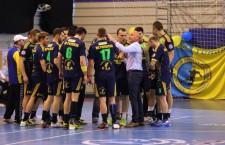 Surpriza frumoasă a ediţiei trecute a Ligii Naţionale de handbal masculin,   Potaissa Turda  a pornit greoi în noul campionat / Foto: Dan Bodea