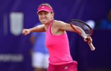Simona Halep a câştigat pentru prima oară în carieră,   scor 6-0,   6-2,   în faţa liderului mondial Serena Williams,   la Turneul Campioanelor