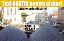 Citeşti? Călătoreşti gratis cu taxiul