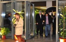 Viktor Orban a venit la Sapientia Cluj în blugi şi cu gluga pe cap