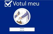 """""""Votul meu"""" le permite alegătorilor să își compare propriile opinii politice cu cele ale candidaților"""