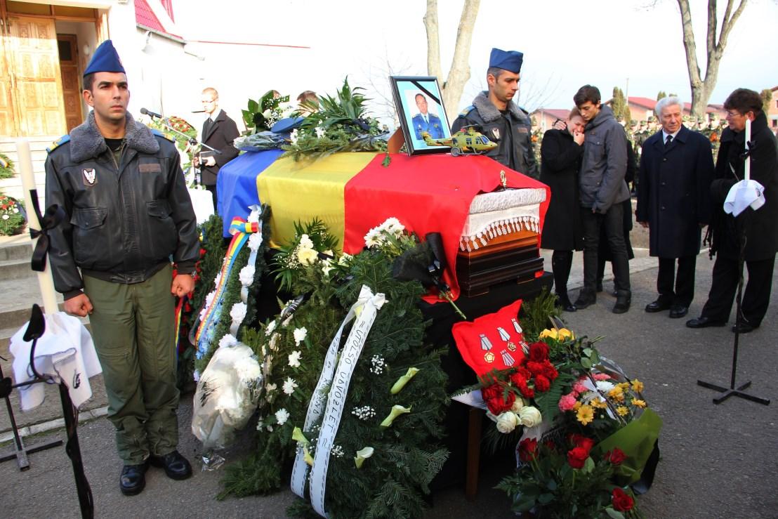 Funerariile comandantului Artur-Grigore Palfi,   24 noiembrie 2014 / Foto: Dan Bodea