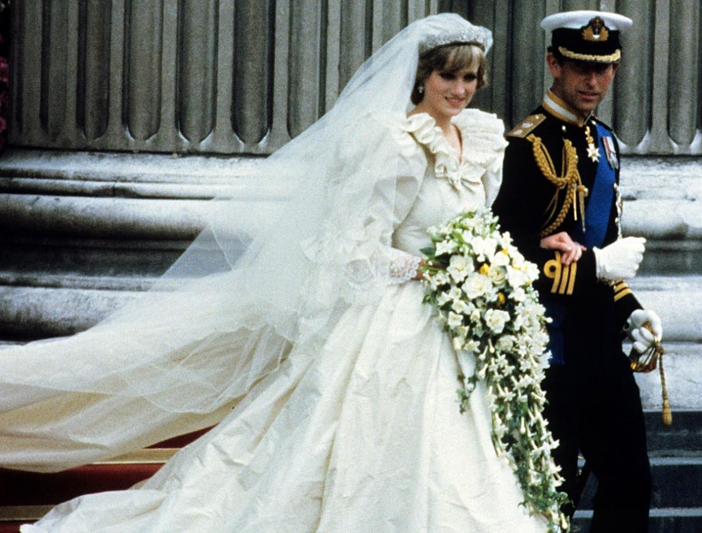 Nunta prințului Charles cu Diana.
