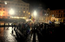 Clujenii au cerut demisa Guvernului Ponta