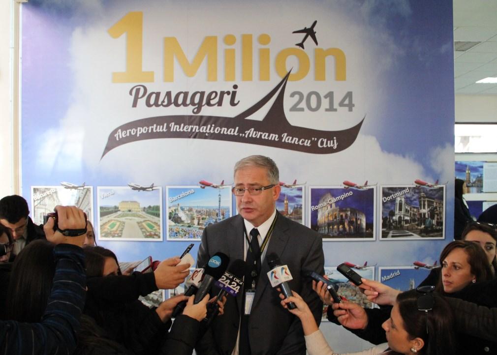 """Directorul General al Aeroportului Internațional """"Avram Iancu"""" Cluj,   David Ciceo / Foto: Dan Bodea"""