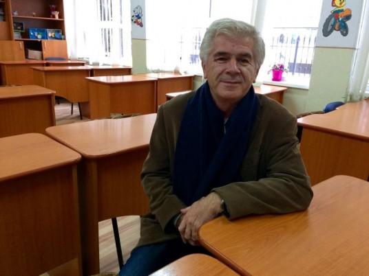 Profesorul Ionel Gomboş/Foto: Cristina Beligăr