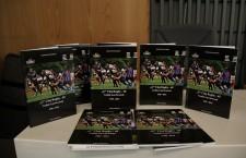 """Jurnalistul clujean Demostene Şofron a lansat cartea """"U"""" Cluj Rugby 65 – Tradiție și performanță, cu ocazia aniversării a 65 de ani de activitate a echipei universitare / Foto: Dan Bodea"""