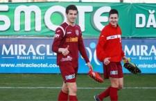 Mijlocașul CFR-ului Alexandru Păun (foto, în plan secund) a fost convocat la echipa națională de tineret a României