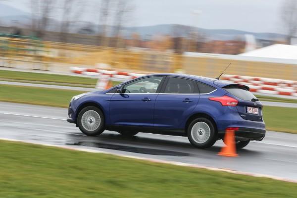 Pe circuitul de kart. de la Tg. Secuiesc,   noul Focus și-a demonstrat capacitățile sportive.
