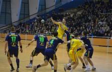 Potaissa Turda a terminat anul pe locul 10 în Liga Naţională, după 26-28 cu HC Odorhei / Foto: Dan Bodea