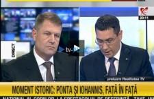Klaus Iohannis și Victor Ponta