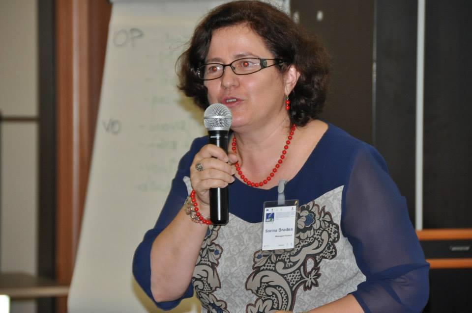 Sorina Bradea,   Senior Partner RoMarketing,   unul dintre organizatorii evenimentului.