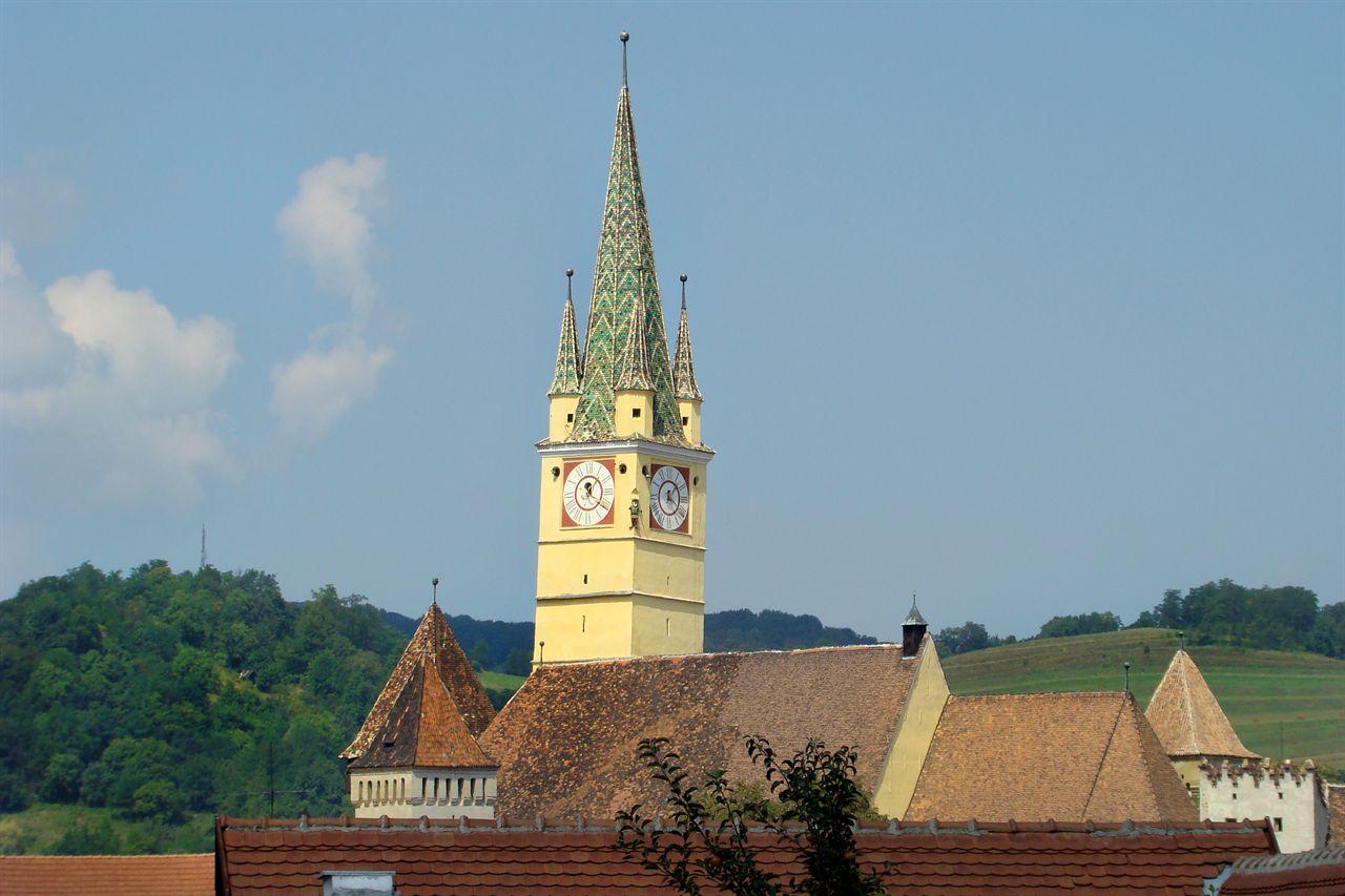 Turnul bisericii fortificate din Mediaș