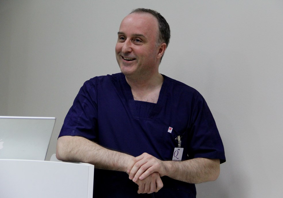 Dr. Adrian Avram,   medic specialist Chirurgie Estetică,   Plastică și Reparatorie / Foto: Dan Bodea.