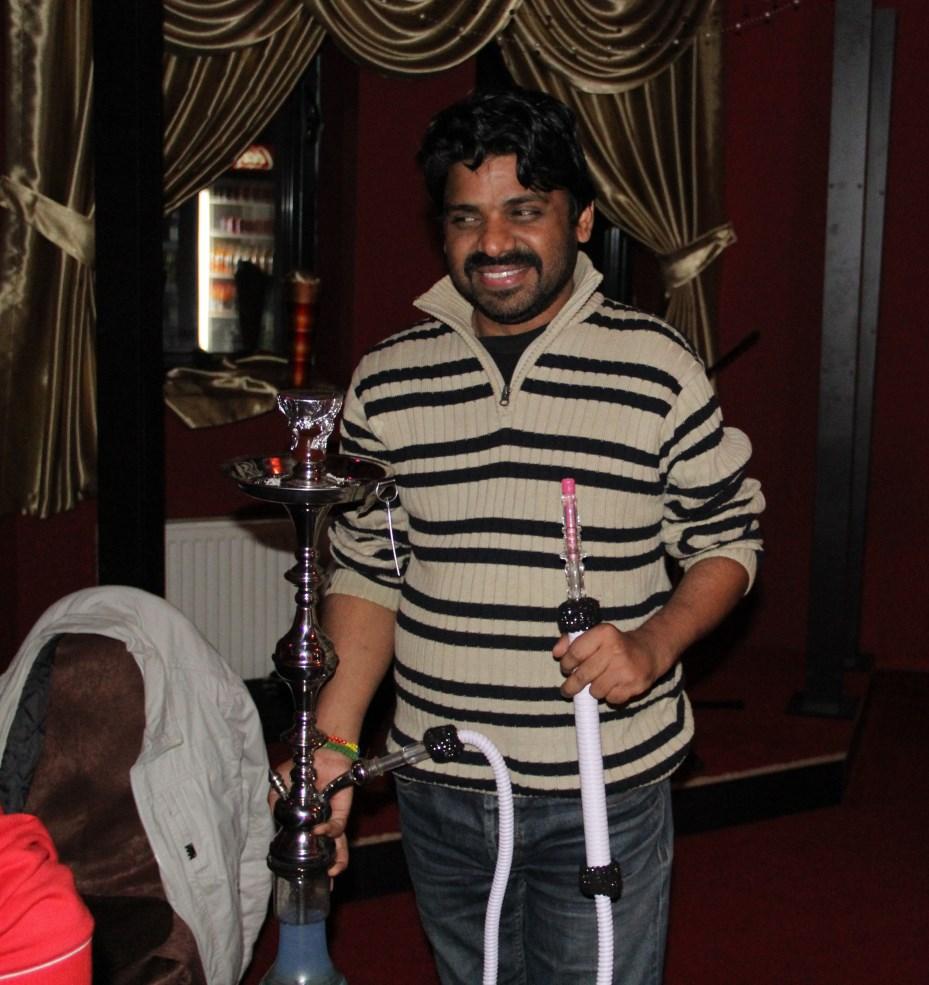 Danish Ashraf,   patronul Clubului Camel / Foto: Dan Bodea