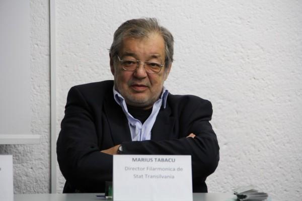 Marius Tabacu,   director Filarmonica de Stat Transilvania/Foto: Dan Bodea
