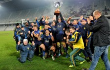 RCM Timişoara s-a impus cu scorul de 19-16 în faţa campioanei CSM Ştiinţa Baia Mare şi a cucerit Cupa României la rugby, în finala de pe Cluj Arena / Foto: Dan Bodea