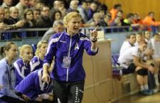 "Carmen Amariei este noul antrenor al echipei ""U"" Alexandrion Cluj / Foto: Dan Bodea"
