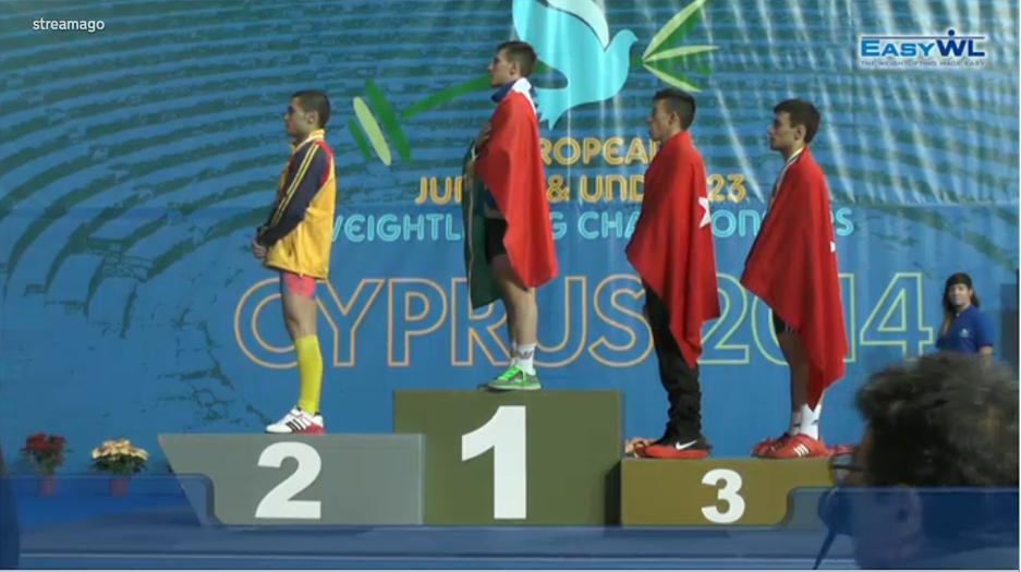 3 medalii de argint a cucerit anul acesta Ilie Ciotoiu la Campionatele Europene de juniori și tineret din Cipru.