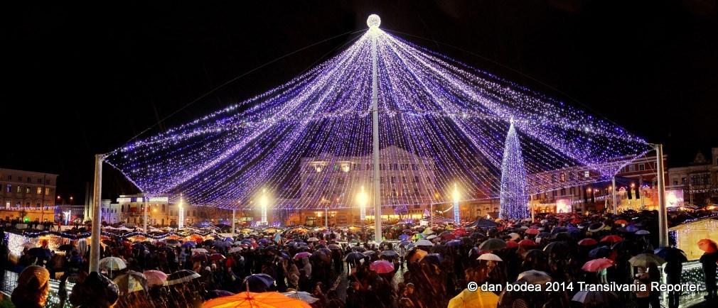 Cortina din Piața Unirii / Foto: Dan Bodea