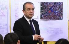 Primarul municipiului Cluj-Napoca,   Emil Boc