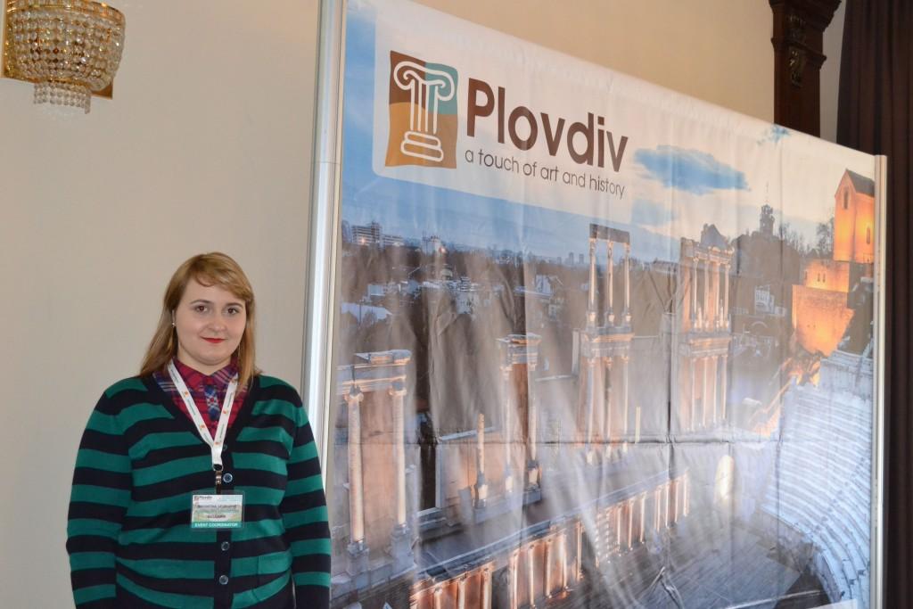 Radostina Gheorghieva,   unul dintre managerii proiectului Plovdiv 2019 / Foto: Bogdan Stanciu