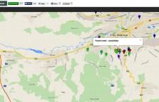 Harta interactivă a străzilor neasfaltate din Orașul Comoară.