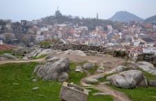 Plovdiv,   văzut de pe Dealul Nebet/ Foto: Bogdan Stanciu
