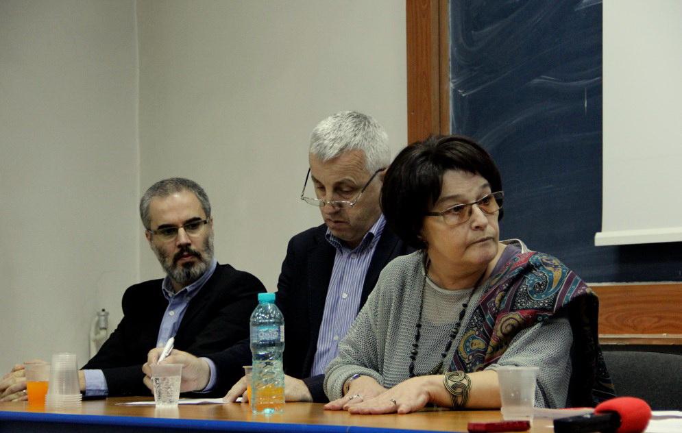 Miruna Runcan,   Viorel Nistor și Mihnea Măruță/Foto: Dan Bodea