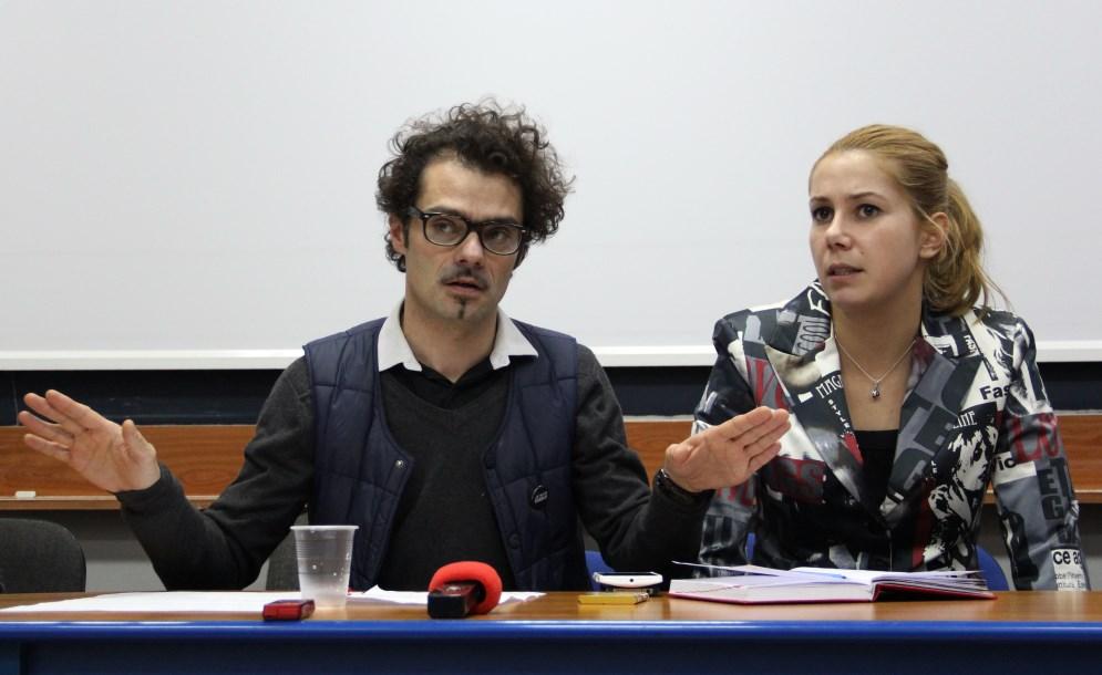 Benoit Bavouset și Raluca Mateiu/Foto: Dan Bodea