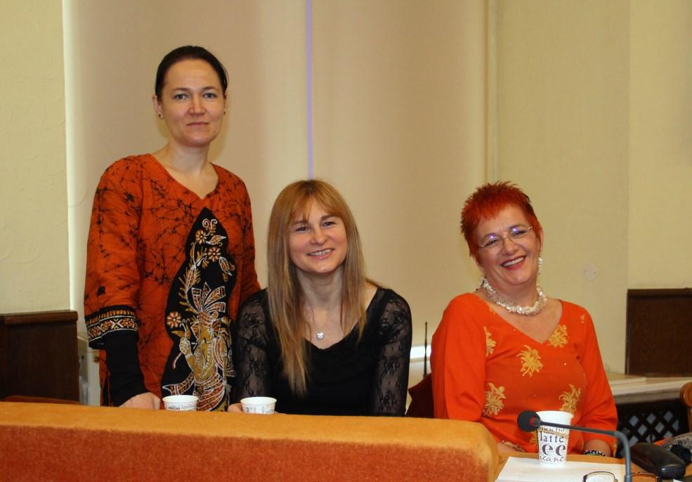 Mihaela Gligor,   Hanna Bota și Iudita Pelea/Foto: Dan Bodea