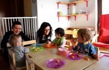 """""""Grădi"""" pentru bebeluși / Foto: Dan Bodea"""
