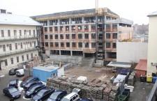 Noul corp de clădire al Finanţelor va fi gata în acest an