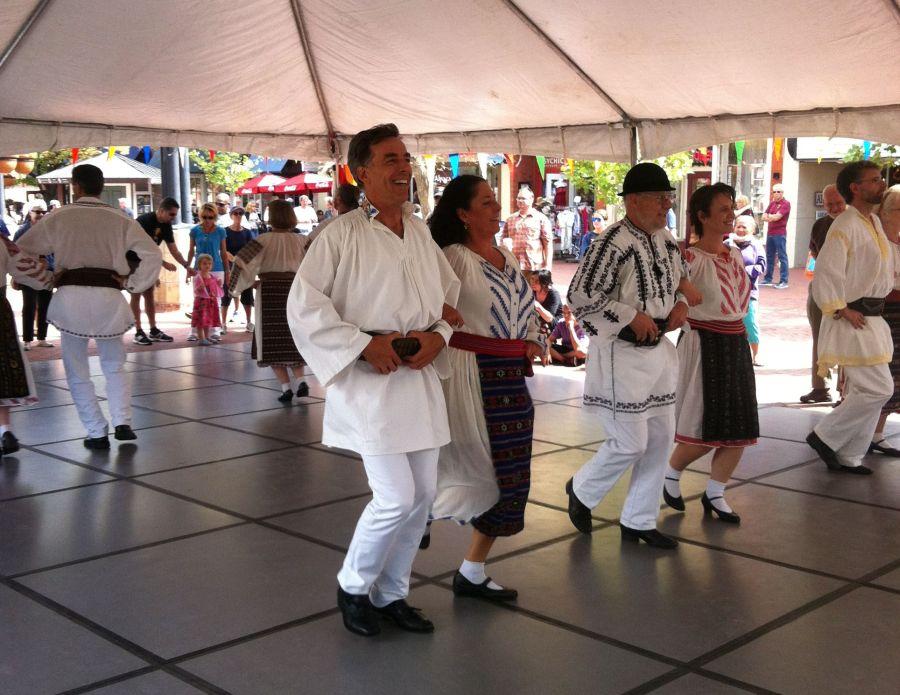La Festivalul Românesc din Colorado/Foto: Arhiva personală