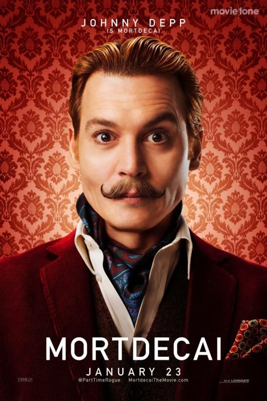 """La final de ianuarie îl vedem pe Johnny Depp într-un alt rol,   în pelicula """"Mortdecai"""",   o adaptare a cărții """"The Mortdecai Trilogy"""" semnată de Kyril Bonfiglioli"""