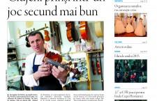 """Nu ratați noul număr din Transilvania Reporter: """"Clujeni prinşi într-un joc secund mai bun"""""""