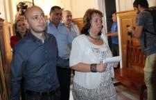Peter Tunde, pe coridoarele Tribunalului Cluj / Foto: Dan Bodea