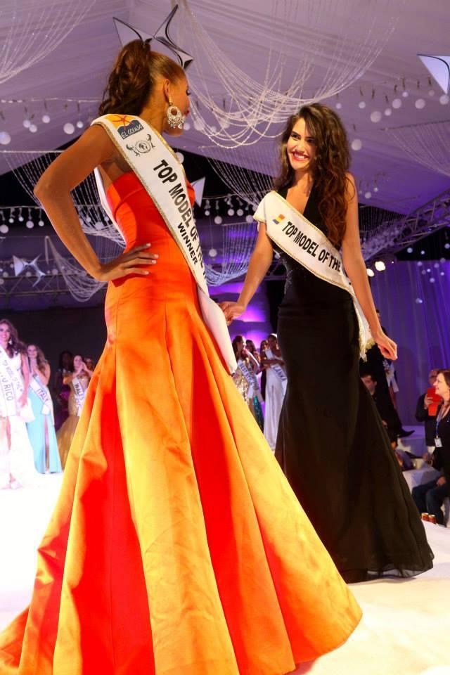 Loredana alături de Miss Columbia