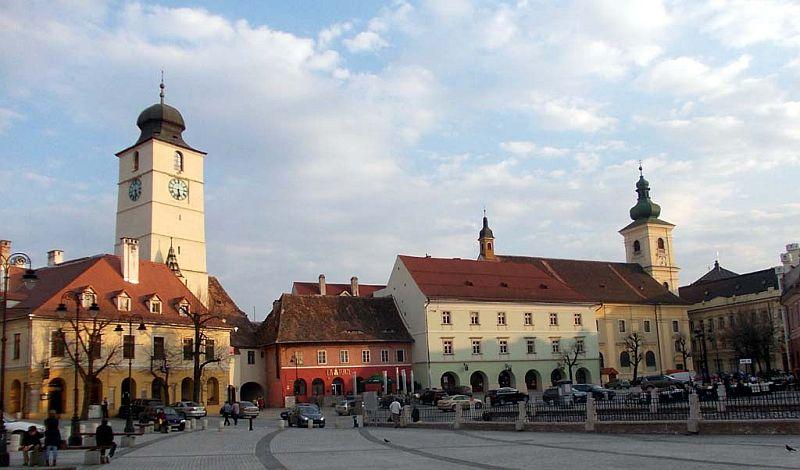 Sibiu,   Piața Mică