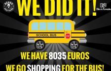 Beard Brothers au strâns peste 8.000 de euro pentru a le oferi copiilor de la Grădinița Specială din Cluj, un microbuz nou