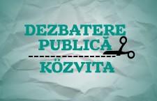 Dezbaterea este cea de-a treia acțiune a Grupului de inițiativă Musai-Muszáj.
