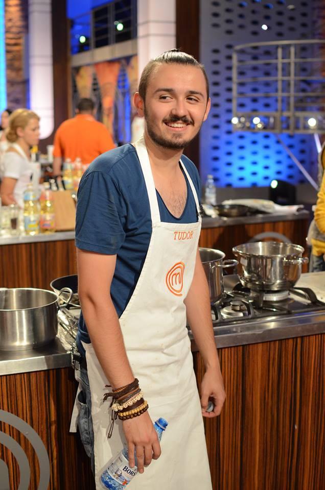 Un MasterChef fericit în cadrul show-ului culinar / Foto: arhiva personală