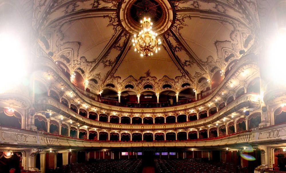 Sala Mare a Teatrului Național Cluj/Foto: Dan Bodea
